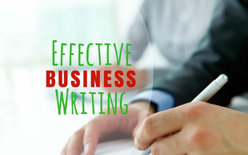 grammar for business writing
